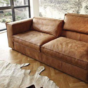 Hochwertige Leder-Sofas und Couch-Garnituren