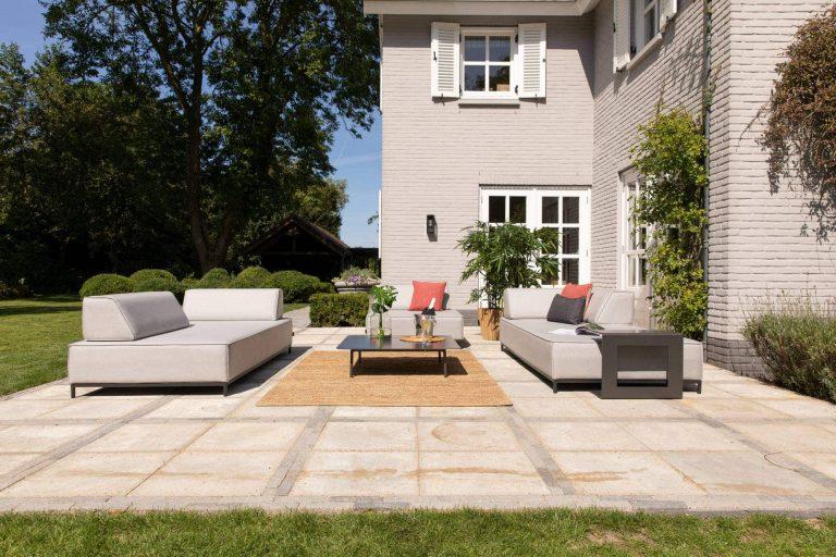 COMO Outdoor-Sitzlounge von Exotan