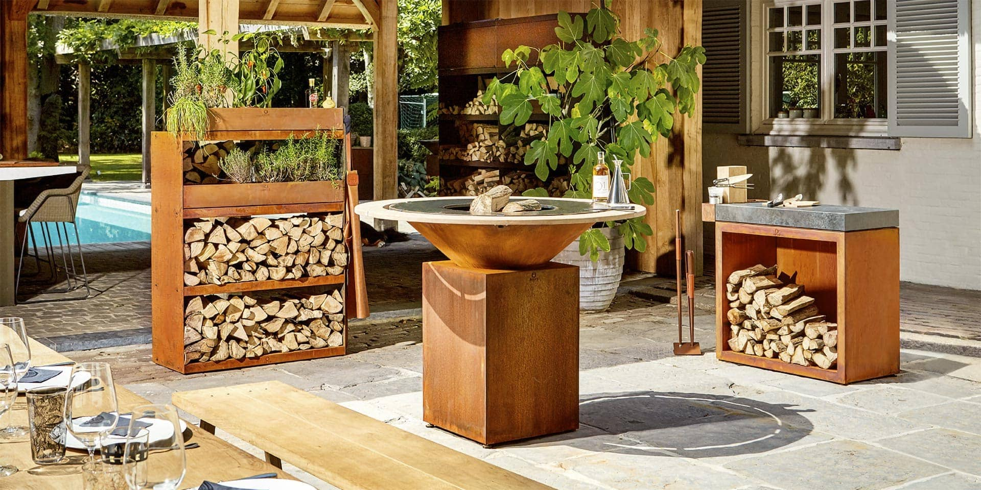 Der OFYR Outdoor-Grill - The art of cooking