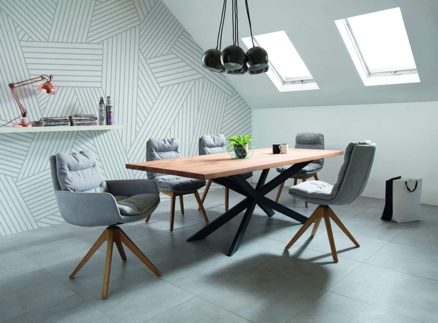 Der elegante Drehstuhl PADI von tiado