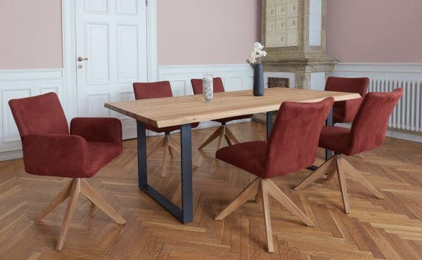 Drehstuhl und Sitzbank FAIRFIELD