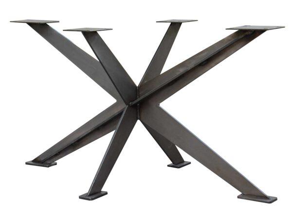 Tischuntergestell Spider aus lasergeschnittenem Metall