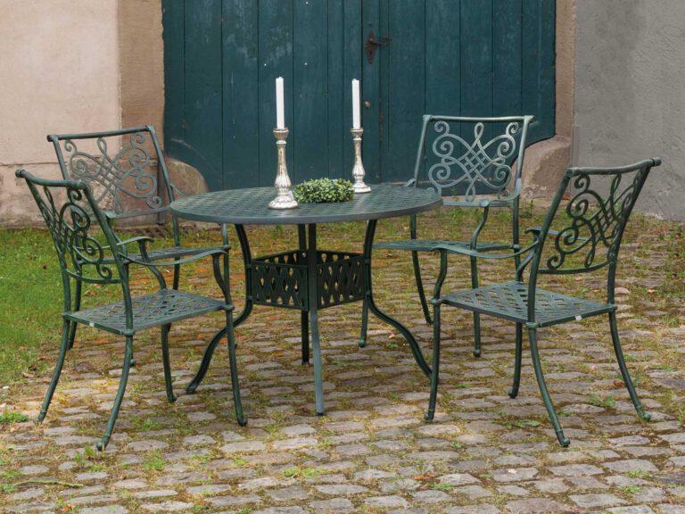 Hochwertige Gartenserien von InkO Nexus Gartentisch und -Stühle