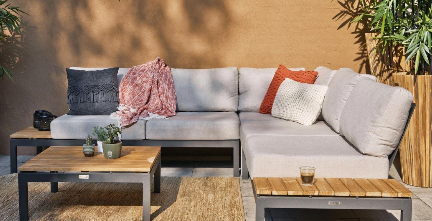 Outdoor-Sitzlounge VILLA von Exotan