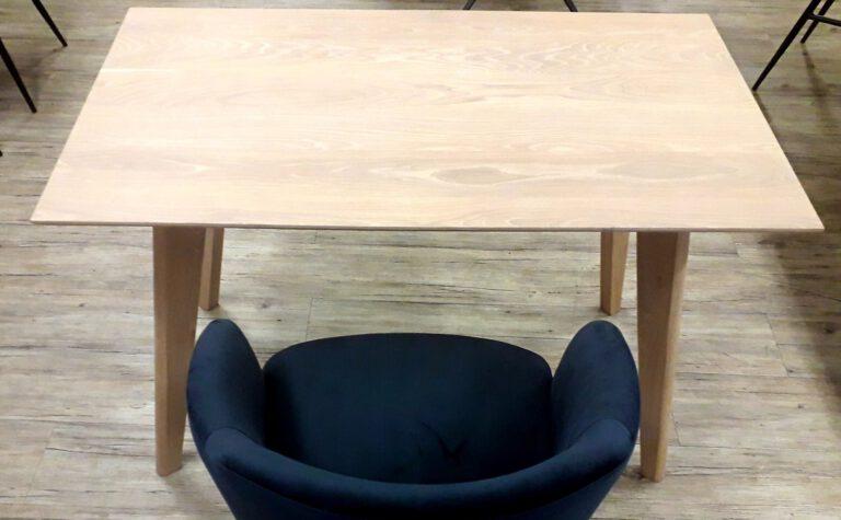 Eiche-Tisch NARVIK weiß geölt