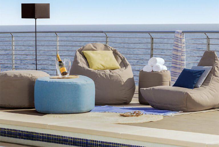 Ikoonz Chiller EgXtreme Rondo Outdoor Sitzsaecke Lounge
