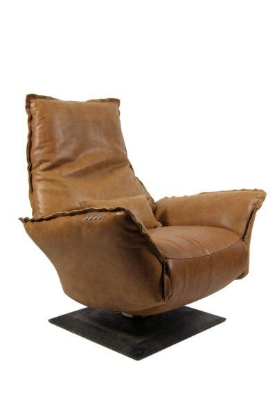 Verstellbarer Leder-Relaxsessel JESSE von Chill Line