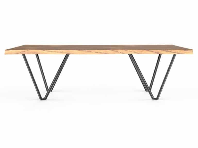 Tischmodell Volare von TUUM in 4 Holzarten