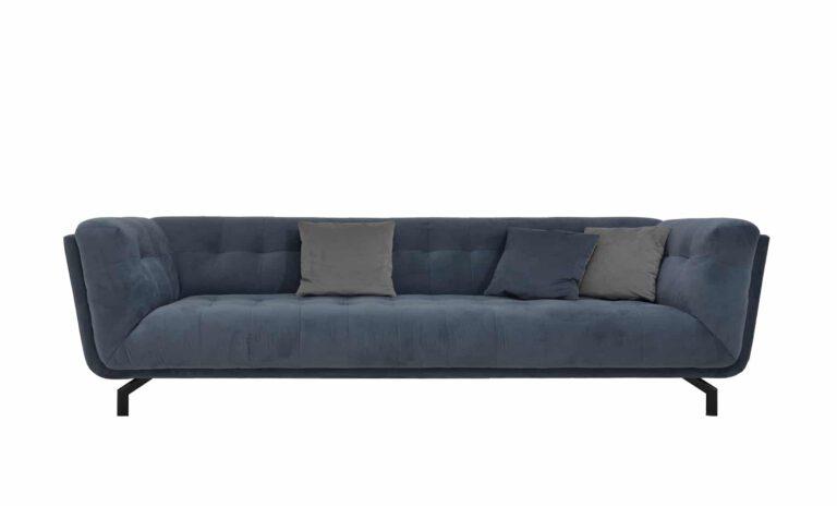Das Sofa HAMPTON von Sliwinski.
