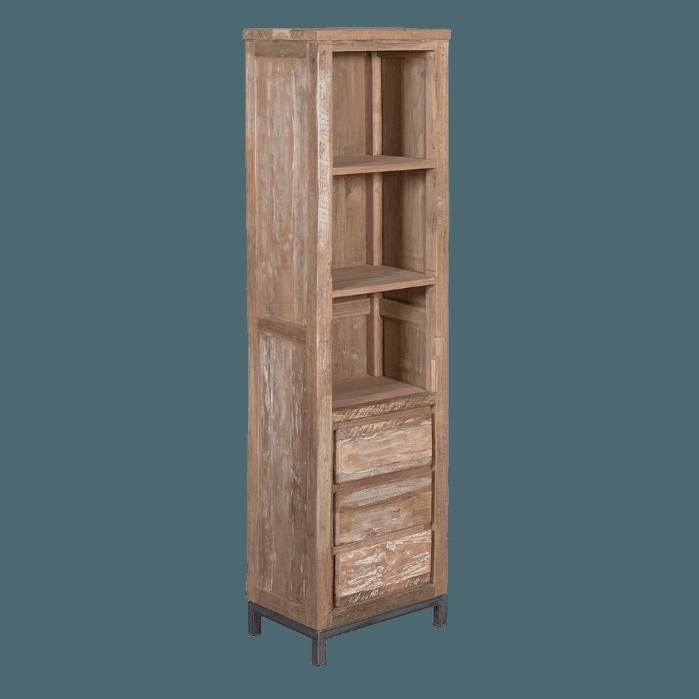 Bücherregal VENETIE aus Teak von Tower Living