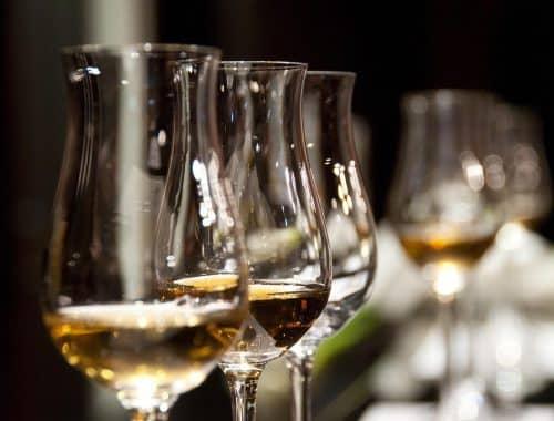 Tastings Verkostungen von Wein, Whiskey und mehr